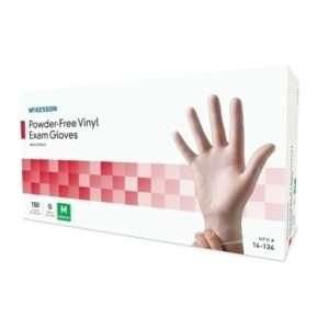 McKesson Powder-Free Vinyl Exam Gloves