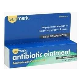 Sunmark Antibacterial First Aid Ointment
