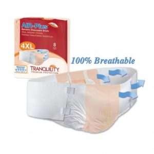 Tranquility® AIR-Plus™ Bariatric Disposable Briefs