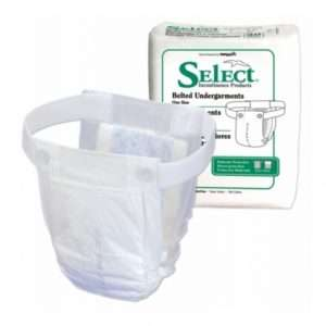 Select® Belted Undergarment For Moderate Protection