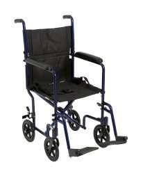 McKesson Aluminum Transport Chair