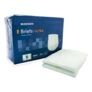 McKesson Ultra Briefs with Tabs Heavy Absorbency