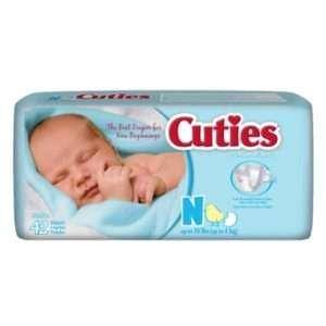 Cuties® Premium Baby Diapers