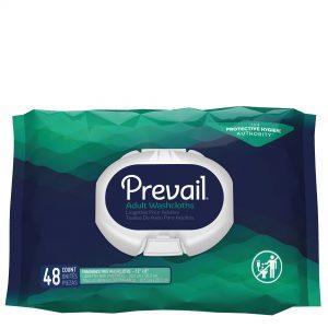 Prevail® Adult Washcloths Fragrance Free