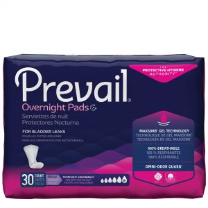 Prevail® Bladder Control Pads – Overnight