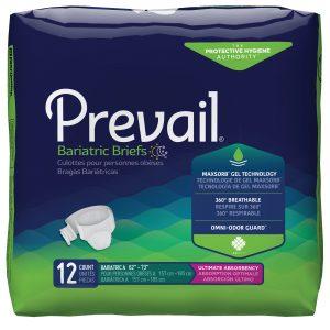 Prevail® Bariatric A Sized Briefs