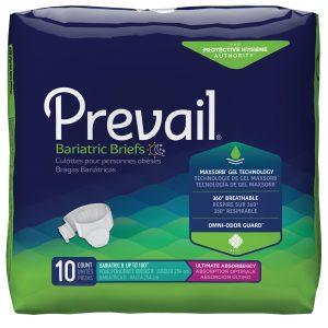 Prevail® Bariatric B Sized Briefs