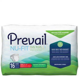 Prevail® NU-FIT Adult Briefs