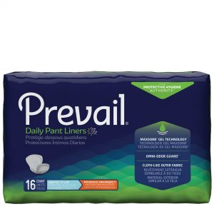 Prevail® Pant Liners: Extended Use