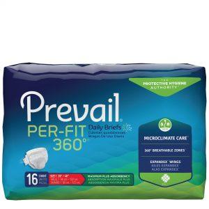 Prevail® Per-Fit®360° Briefs