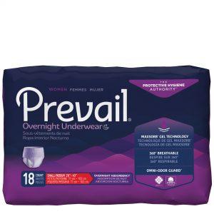Prevail® for Women: Overnight Absorbency Underwear